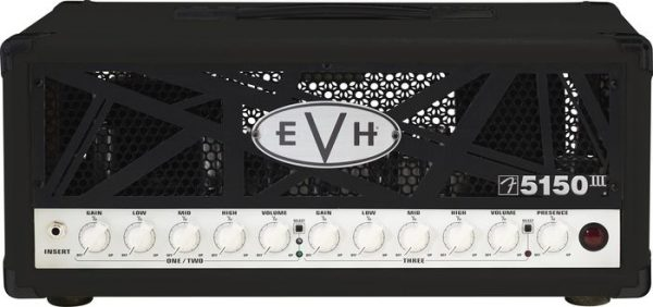 EVH® 5150 III 50 Watt Guitar Amp Head Black