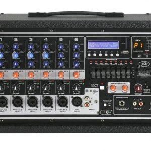 Peavey PVi 6500 Powered Mixer 400 Watt, 6 Channel