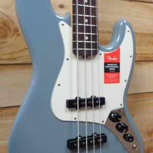 Fender® American Professional Jazz Bass® Rosewood Fingerboard Sonic Gray w/Case