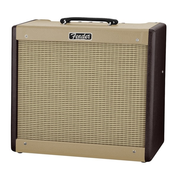 Fender® FSR Blues Junior III Combo Amplifier Wine and Blonde