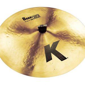 "Demo Zildjian 19"" K Dark Thin Crash"